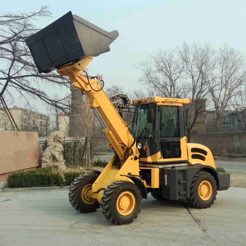 Construction Machine Telescopic Wheel Loader HY2500 With CE
