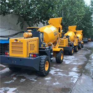 Mobile Concrete Mixer With Self Loading Fuction For Russia Uzbekistan