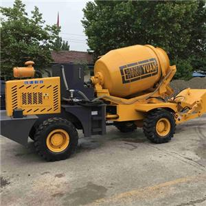 1.2-4.0 Cubic Self Loading Concrete Mixer Truck