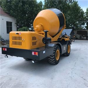 Fiori CBV Self Loading Concrete Mixer