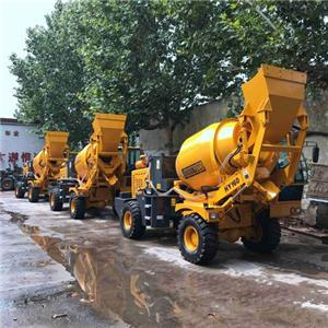 Self-loading Concrete Mixer Truck For Sale With Weighting And Print System