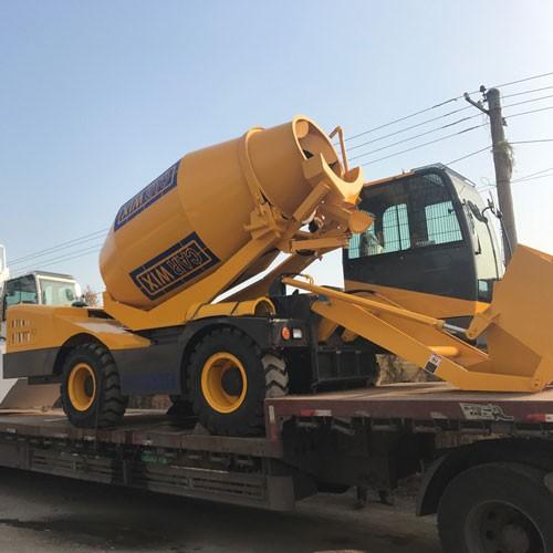 Self-loading Concrete Mixer Dumper Truck Mixer Concrete