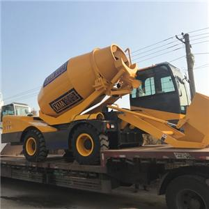 Self-loading Concrete Mixer Dumper Truck Mixer Concrete