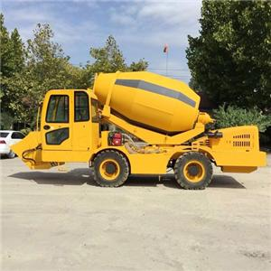 Self-loading Concrete Mixer Truck Construction Mixer Price