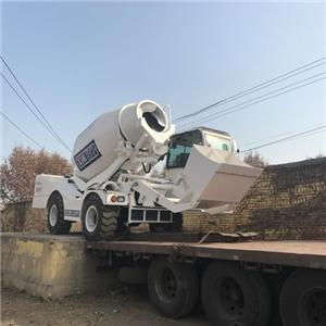 Mobile Self-loading Concrete Mixer With 4M3 Batch Capacity