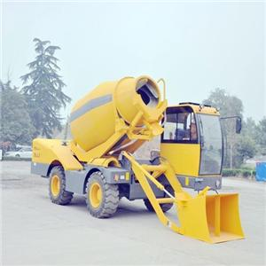 4M3 Cheap Price Of Self-loading Concrete Mixer Truck With 125 HP Engine