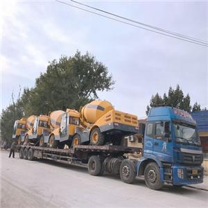 QGMC 3500TT Self Loading Concrete Mixer