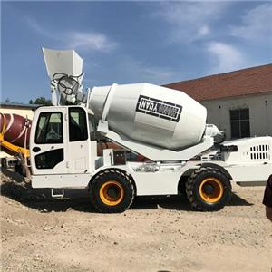Self Loading Concrete Truck Mixer