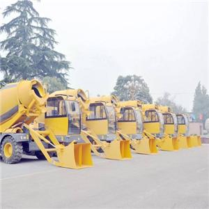 2018 Self-loading Mini Concrete Mixer Truck For Sale