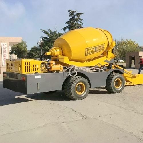 2.5M3 Capacity Concrete Mixer Machine Cement Mixer Machine