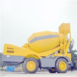 Self Loading Mobile Concrete Mixture