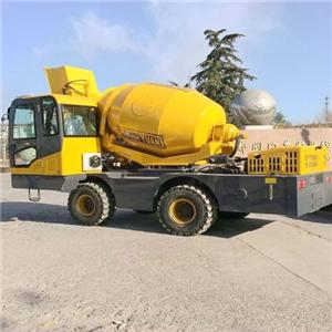 MAXMECH 2.5 Self Loading Concrete Mixer