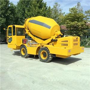 Self Loading Concrete Mixer Price