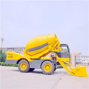 Self-loading Concrete Mixer Truck Machine China