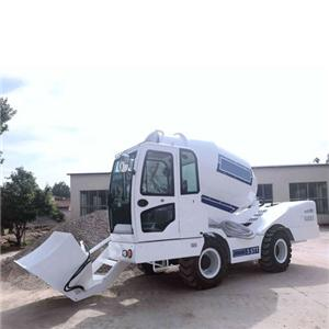 Self Loading Mobile Concrete Mixer Price