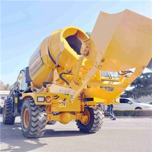 1.6M3 Batch Self-loading Concrete Mixer