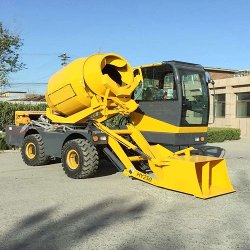 2.5 M3 Batch Self-loading Concrete Mixer