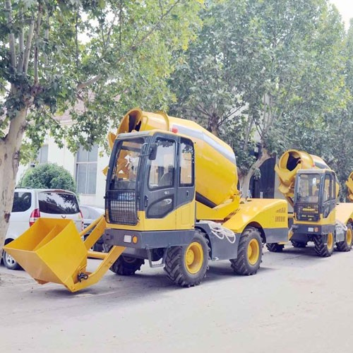 3.5M3 Batch Self-loading Concrete Mixer