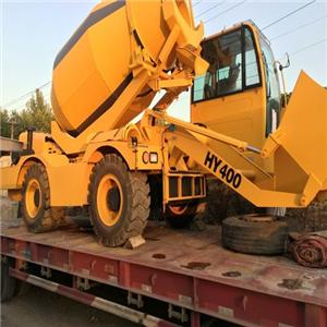 Mobile Self-loading Concrete Mixer