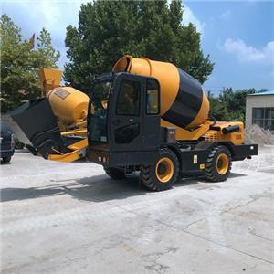4WD Mobile Self-loading Concrete Mixer