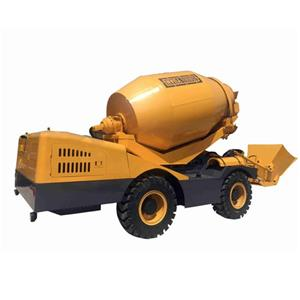 Self Loading Concrete Mixer Video