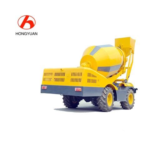 Self Loading Mobile Concrete Mixer India