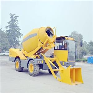 Fiori Self Loading Mobile Concrete Mixer Price
