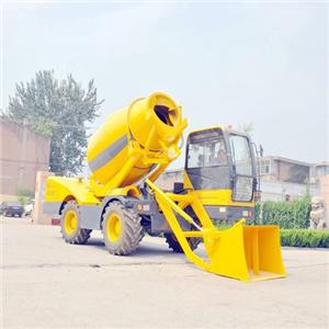 QGMC 3500 Self-loading Concrete Mixer