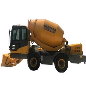 4 Wheel Driven Concrete Mixer Truck