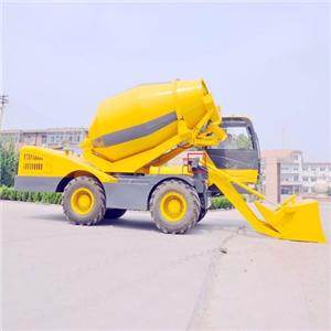 2018 Self Loading Mobile Concrete Mixer