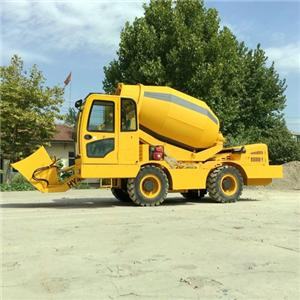 QGMC Self Loading Concrete Mixer For Sale