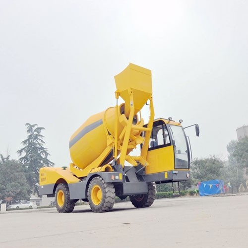2018 China Best Price Mobile Self-loading Concrete Mixer In HANK