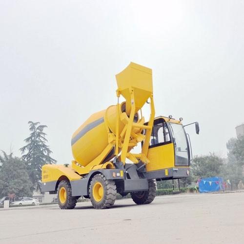 2 Cubic Meters Concrete Mixer Truck For Sale