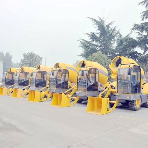3.5 Cubic Meters Concrete Mixer Truck For Sale