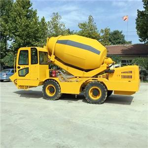 4 Cubic Meters Concrete Mixer Truck For Sale
