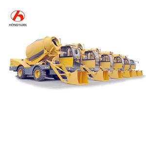 Factory Supply 3.5cbm Slef Loading Concrete Mixer Truck With 270 Degree