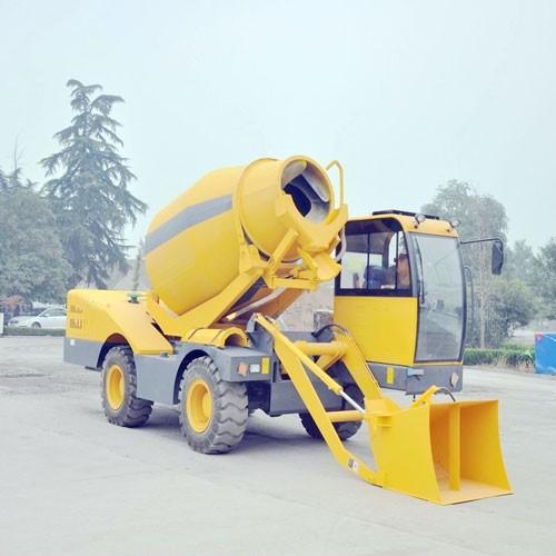 Concrete Transmit Vehicle
