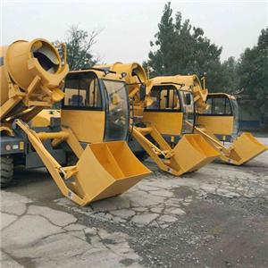 HANK 3.5 Cubic Meters Self Propelled Hydraulic Mobile Self Loading Concrete Mixer Truck Price