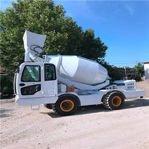 2018 Factory Price High Quality HK 4.0 Mobile Concrete Mixer Machine For Sale