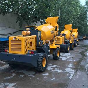 Diesel Engine Concrete Mixer Machine Prices