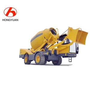 Auto Loading Concrete Mixer Truck With Weighting System