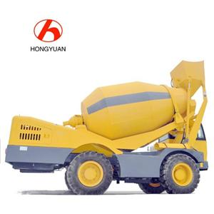 Brand New 4.2M3 Self-loading Concrete Mixer In Stock