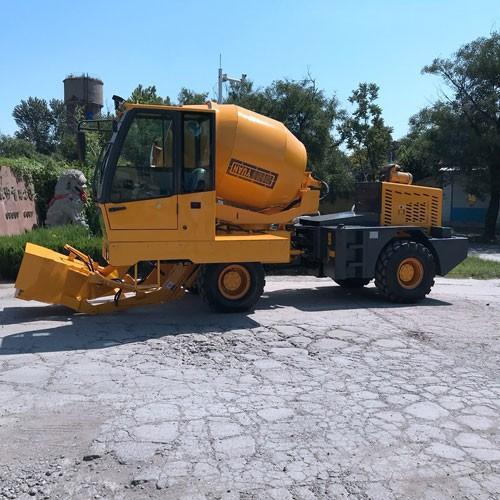 Cheap Self-loading Concrete Mixer Truck Price Direct Factory