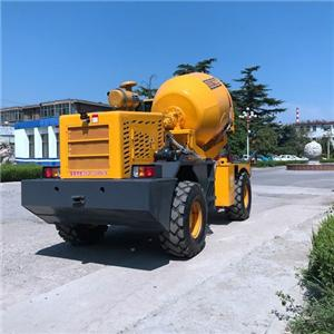 Mini Cement Mixer Truck With Drum Rotation