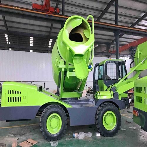 QGMC Ready Mix Concrete Trucks