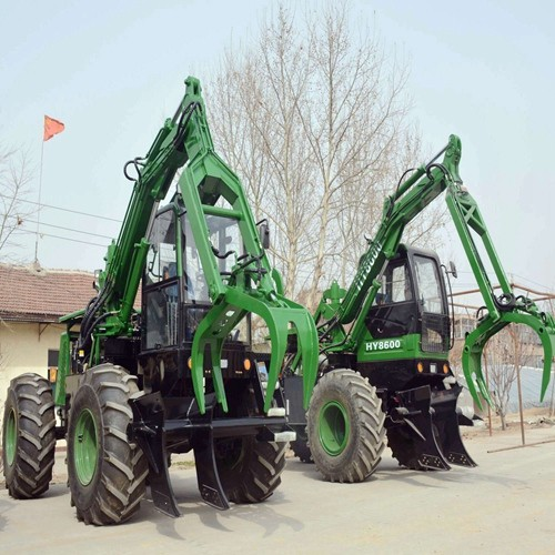 sugrcane grapple loader with 1 ton capacity