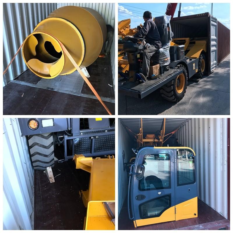 AIMI self loading cement mixer