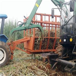 4WD sugarcane loader