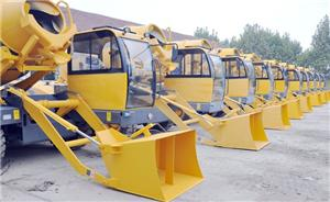 The Ministry of Housing and Construction of Cuba purchases 10 sets self-loading concrete mixer