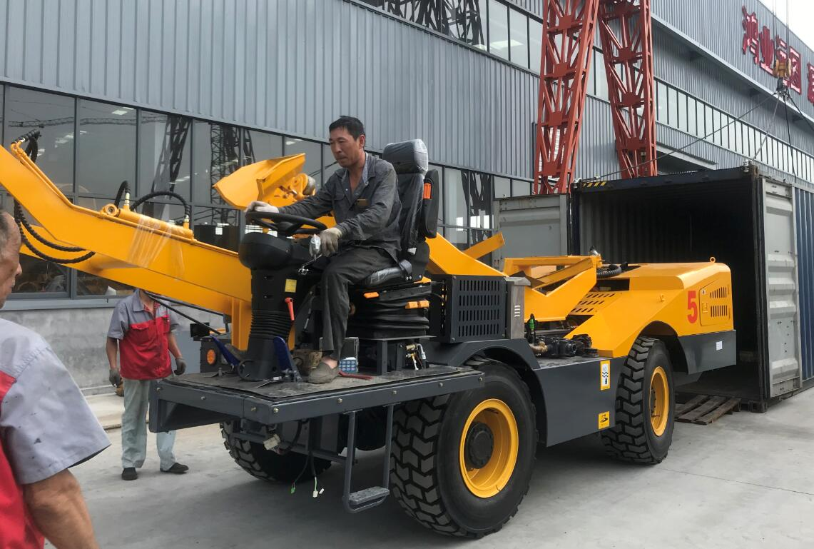 self loading mixer delivery